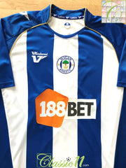 2009/10 Wigan Athletic Home Football Shirt (M)