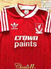 1987/88 Liverpool Home Football Shirt (Y)