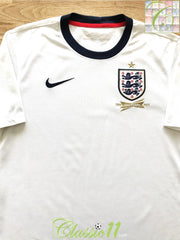 2013 England Home 150th Anniversary Football Shirt (S)