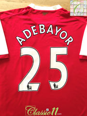 2006/07 Arsenal Home Premier League Football Shirt Adebayor #25 (L)
