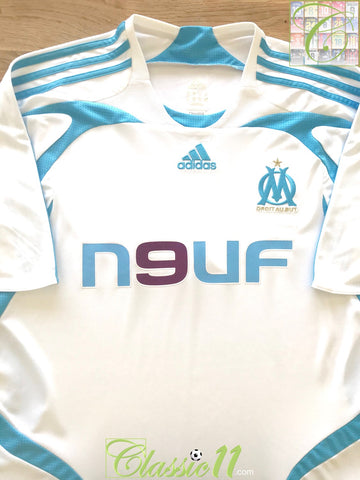 2007/08 Marseille Home Football Shirt (XL)