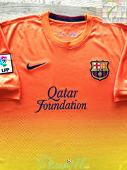 2012/13 Barcelona Away Football Shirt (XL)