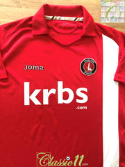 2009/10 Charlton Athletic Home Football Shirt (M)