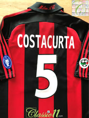 2000/01 AC Milan Home Serie A Football Shirt Costacurta #5 (XL) *BNWT*