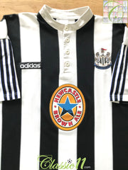 1995/96 Newcastle United Home Football Shirt (B)