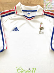 2000/01 France Away Football Shirt (XL)