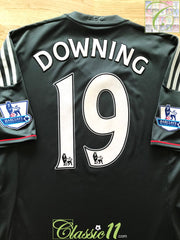2011/12 Liverpool Away Premier League Football Shirt Downing #19 (L)