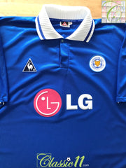 2001/02 Leicester City Home Football Shirt (3XL)