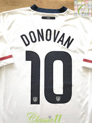 2010/11 USA Home Football Shirt Donovan #10 (M)