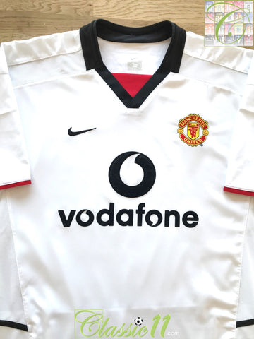 2002/03 Man Utd Away Football Shirt (B)