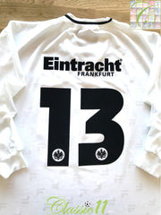 2001/02 Eintracht Frankfurt Away Football Shirt. #13 (XL)