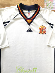 1998/99 Spain Away Football Shirt (XL)