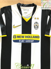 2008/09 Juventus Home Football Shirt (M)