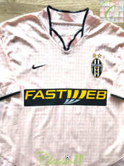 2003/04 Juventus Away Football Shirt (XL)