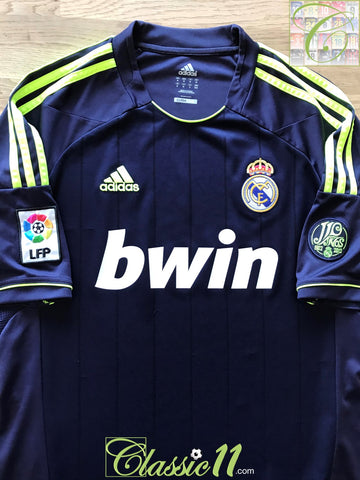 2012/13 Real Madrid Away La Liga Football Shirt (L)