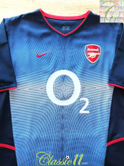 2002/03 Arsenal Away Football Shirt (XXL)