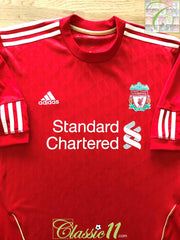 2010/11 Liverpool Home Football Shirt (L)
