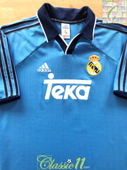 1999/00 Real Madrid 3rd Football Shirt (M)