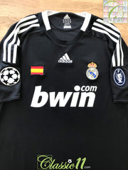 2008/09 Real Madrid 3rd Champions League Football Shirt (L)