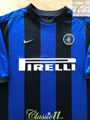 1999/00 Internazionale Home Football Shirt (L)