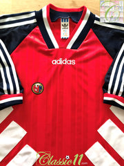 1994/95 Norway Home Football Shirt (XL)