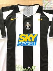 2004/05 Juventus Home Football Shirt (XL)
