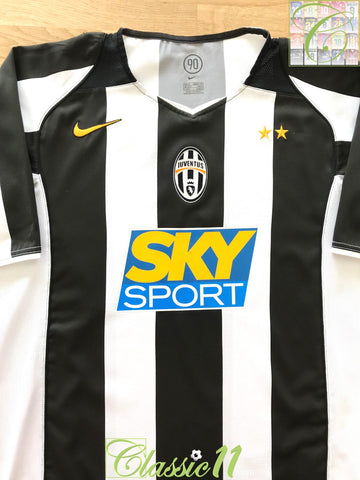 2004/05 Juventus Home Football Shirt (L)