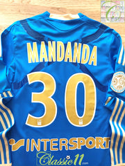 2011/12 Marseille Away Ligue 1 Techfit Football Shirt. Mandanda #30 (M)