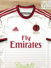 2014/15 AC Milan Away Football Shirt (3XL)
