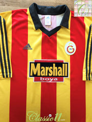 1999/00 Galatasaray Home Football Shirt (XXL)
