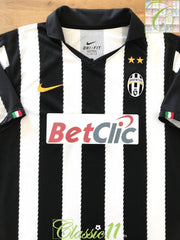 2010/11 Juventus Home Football Shirt (XL)