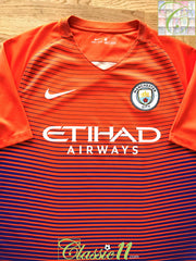2016/17 Man City 3rd Football Shirt (L)