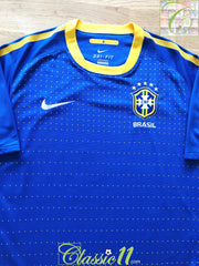 2010/11 Brazil Away Football Shirt (L)