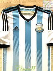 2013/14 Argentina Home Football Shirt (L)