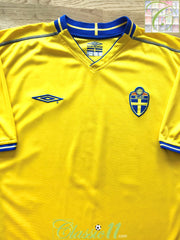 2003/04 Sweden Home Football Shirt (XL)