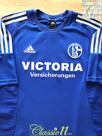 2002/03 Schalke 04 Home Football Shirt (L)