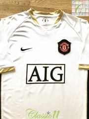 2006/07 Man Utd Away Football Shirt (M)
