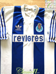 1990/91 FC Porto Home Football Shirt (XL)