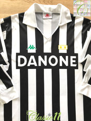 1992/93 Juventus Home Football Shirt (XL)