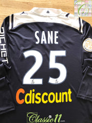 2009/10 Bordeaux Home Ligue 1 Player Issue Football Shirt. Sane #25 (XL)