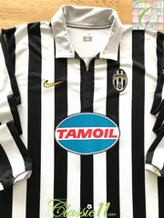 2006/07 Juventus Home Football Shirt. (XL)