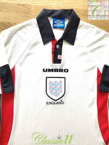1997/98 England Home Football Shirt (Y)