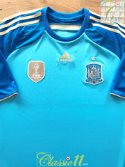 2013/14 Spain Goalkeeper Football Shirt (S) *BNWT*