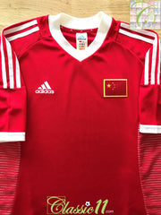 2002 China Home Football Shirt (L)