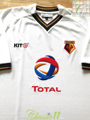2003/04 Watford Away Football Shirt (XL)