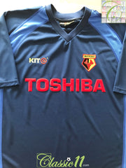 2001/02 Watford 3rd Football Shirt (XL)