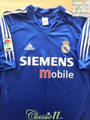 2004/05 Real Madrid 3rd La Liga Football Shirt (XXL)