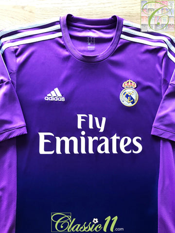 2013/14 Real Madrid Goalkeeper Football Shirt (M)