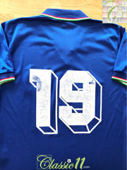 1985/86 Italy Home Football Shirt #19 (M)