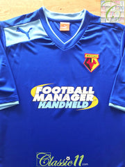 2012/13 Watford Away Football Shirt (XL) *BNWT*